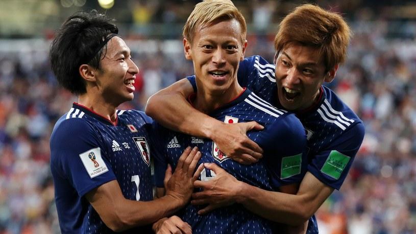 Keisuke Honda (w środku) /Getty Images