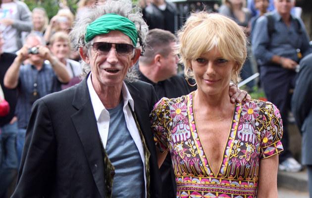 Keith Richards, Patty Hansen  /Splashnews