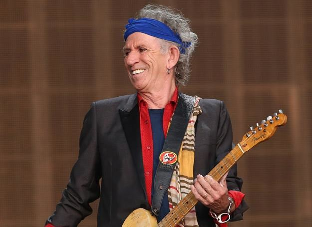 Keith Richards to ikona rock'n'rolla - fot. Simone Joyner /Getty Images/Flash Press Media