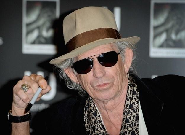 Keith Richards: Zamiast papierosa długopis - fot. Ian Gavan /Getty Images/Flash Press Media