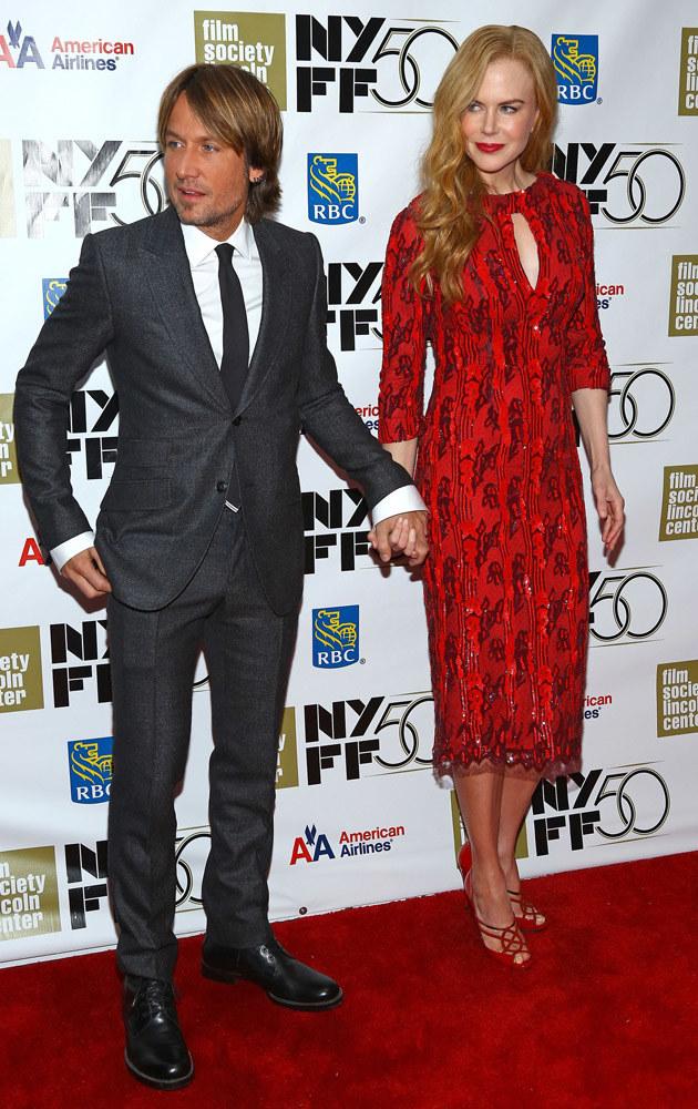 Keith Urban, Nicole Kidman /Astrid Stawiarz /Getty Images