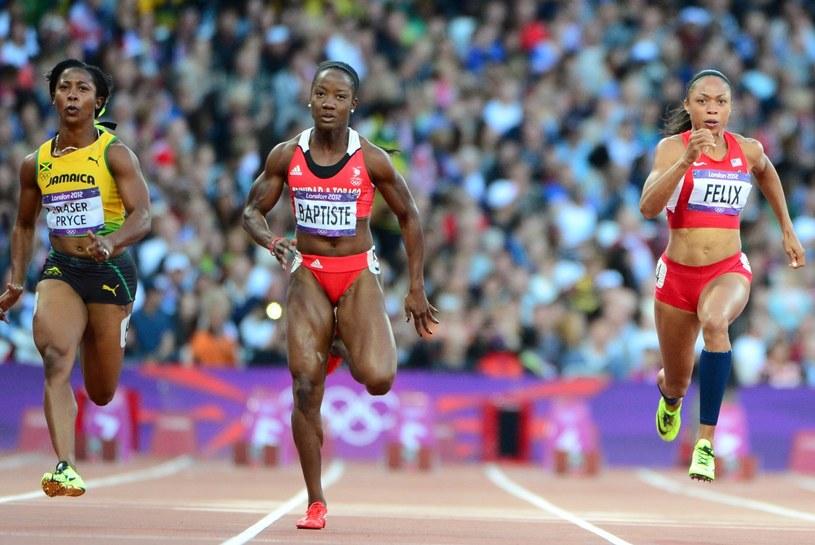Kelly-Ann Baptiste przebiegła 100 m w 10,83 /AFP