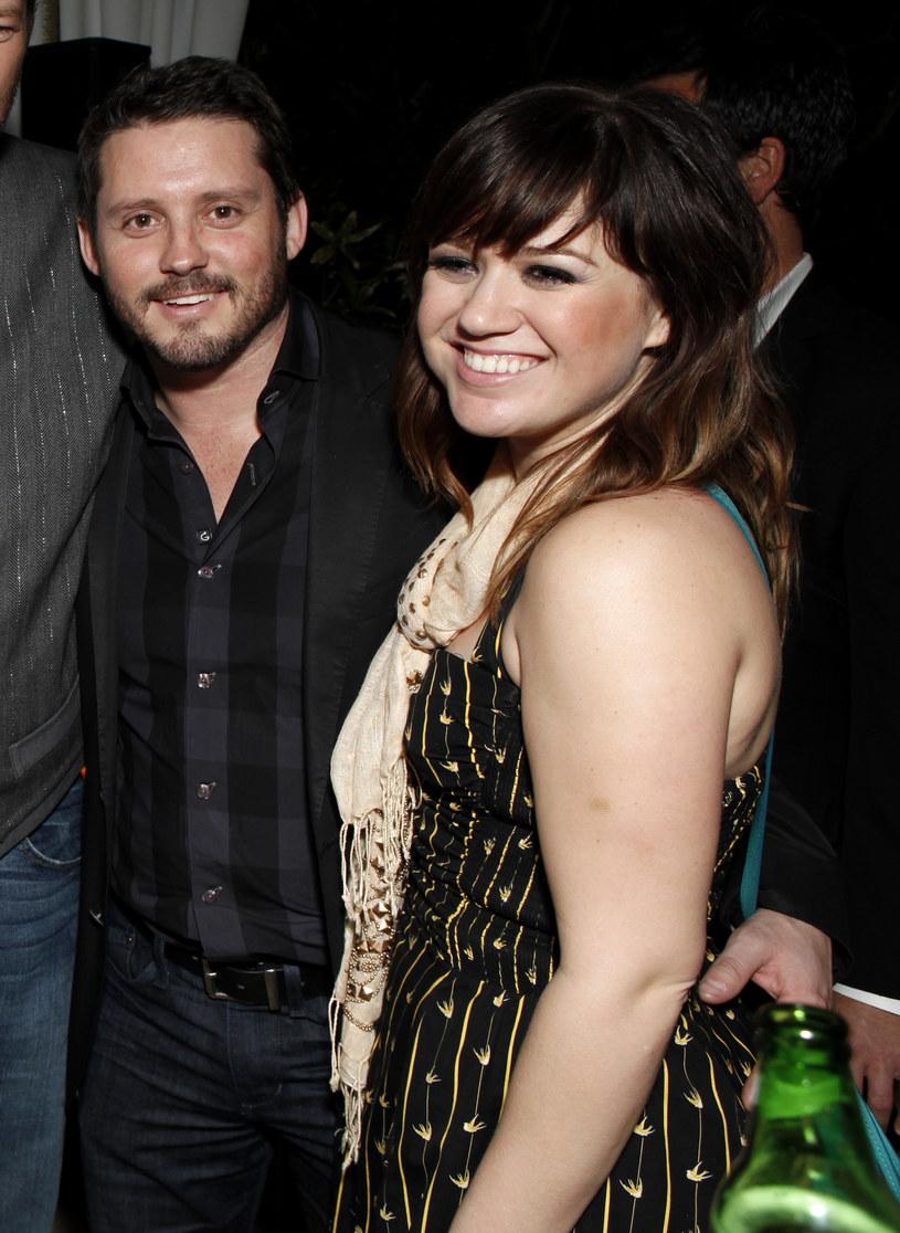 Kelly Clarkson i Brandon Blackstock /Getty Images/Flash Press Media