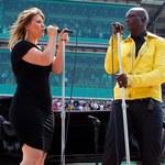 Kelly Clarkson i Seal razem zaśpiewali hymn - zobacz!