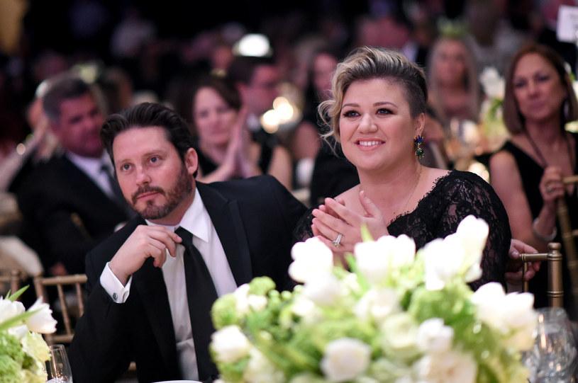 Kelly Clarkson z mężem /Michael Bucker /Getty Images