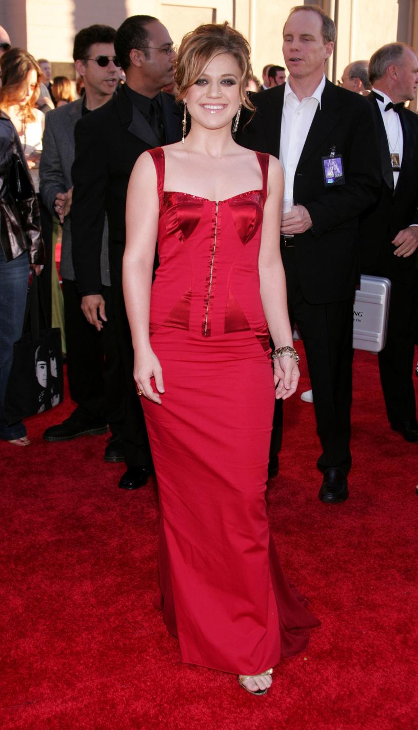 Kelly Clarkson, zdj. z 2004 roku /Carlo Allegri /Getty Images