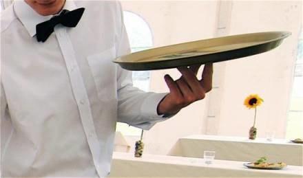 Kelner musi mieć książeczkę zdrowia/  fot. Edyta Rasmus /Gazeta Codzienna