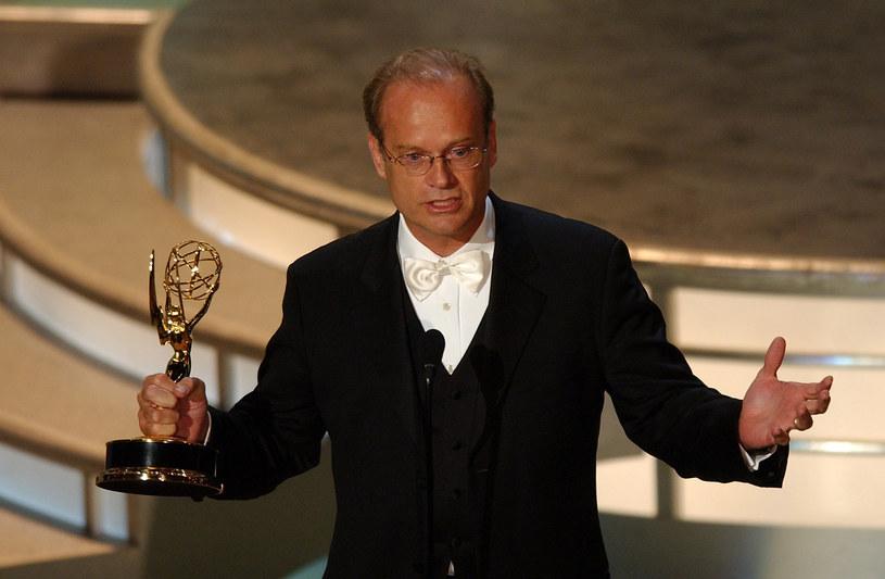 Kelsey Grammer na rozdaniu nagród Emmy w 2004 roku /Michael Caulfield/WireImage /Getty Images