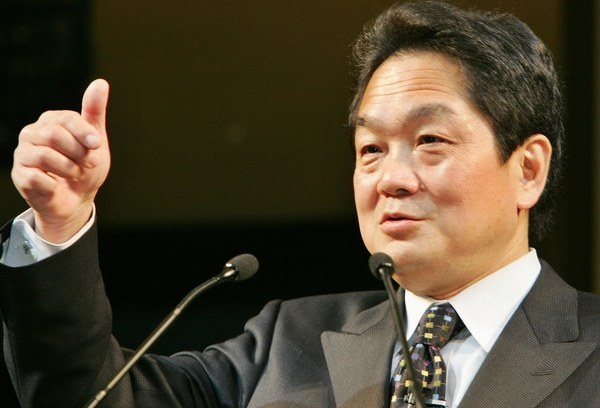 Ken Kutaragi - pomysłodawca i twórca pierwszej konsoli Sony /AFP