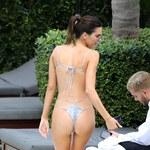 Kendall Jenner w bardzo skąpym bikini!