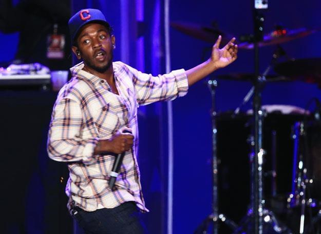 Kendrick Lamar na scenie - fot. Christopher Polk /Getty Images
