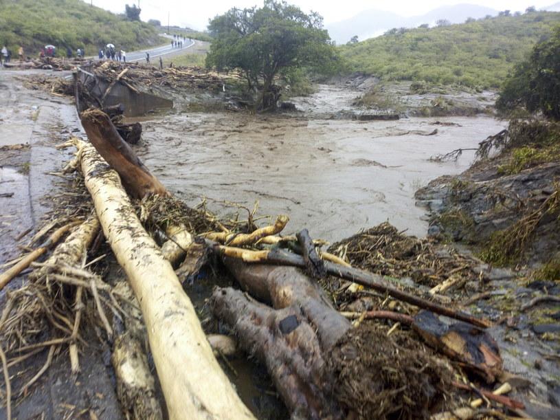 Kenia: Lawiny ziemne i ulewne deszcze na zachodzie kraju / STR   /PAP/EPA