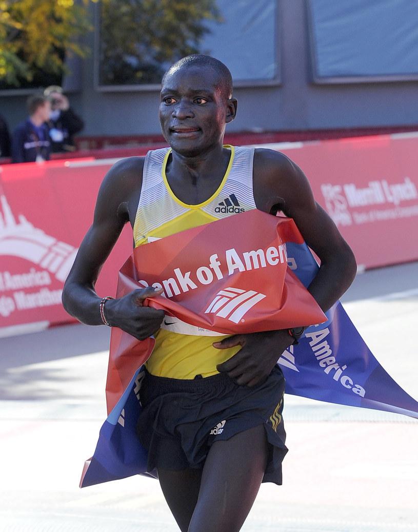 Kenijski maratończyk Dennis Kimetto /AFP