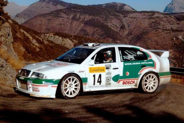 Kenneth Eriksson w Monte Carlo (kliknij) /INTERIA.PL