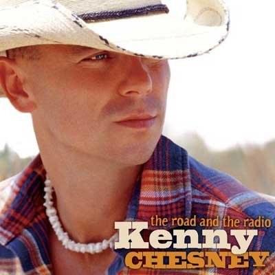 """Kenny Chesney na okładce """"The Road and the Radio"""" /"""