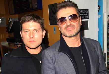 Kenny Goss i George Michael fot. Dave Hogan /Getty Images/Flash Press Media