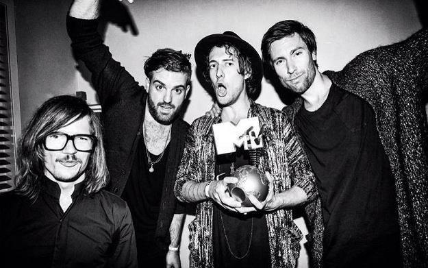 Kensington z nagrodą MTV /Oficjalna strona zespołu