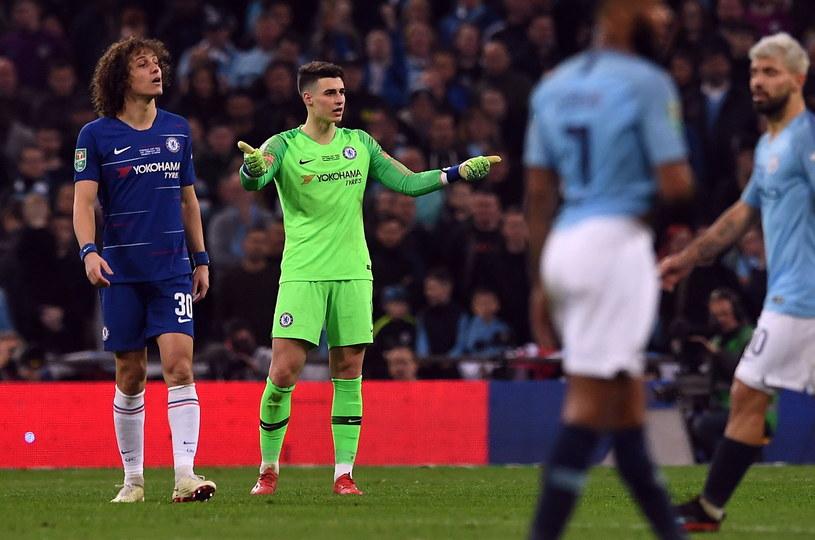 823ba8b43 Kepa Arrizabalaga odmówił zejścia z boiska w meczu z Manchesterem City  /NEIL HALL /PAP