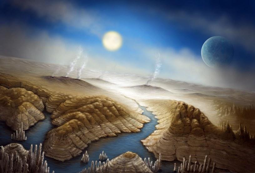 Kepler-452b - artystyczna wizja powierzchni tej planety /East News