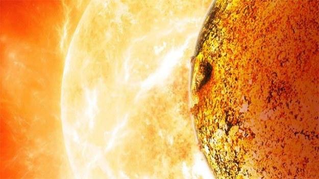 Kepler-78b jest jak Ziemia. Ale to prawdziwe piekło... /materiały prasowe