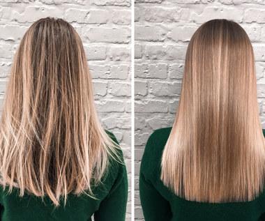 Keratynowe prostowanie włosów: Jak zrobić w domu?