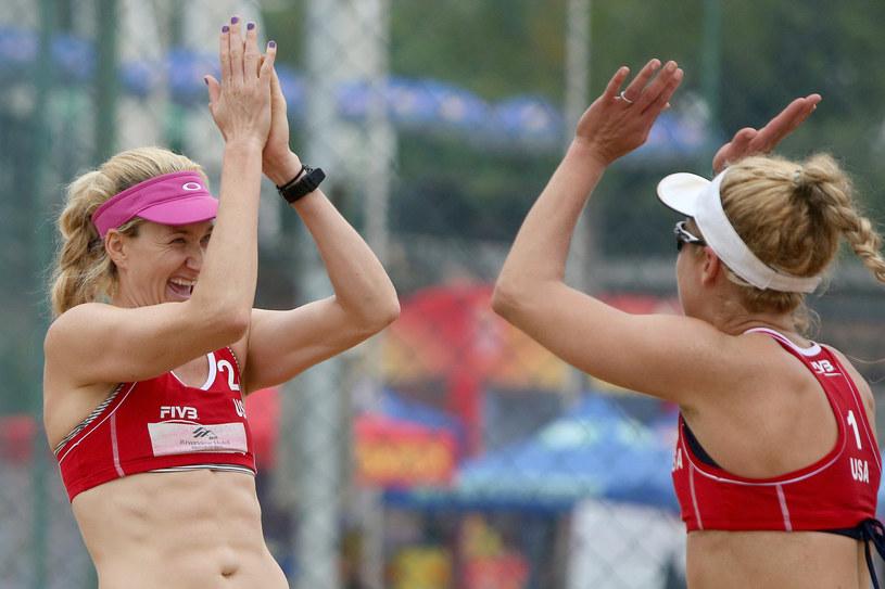 Kerri Walsh i April Ross /Hong Wu /Getty Images