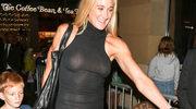 Kerri Walsh Jennings paradowała bez stanika w prześwitującej sukience!