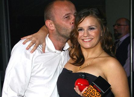 Kerry Katona z mężem Markiem Croftem - fot. Gareth Cattermole /Getty Images/Flash Press Media