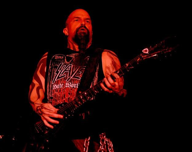 Kerry King (Slayer) i jego diabelska aura fot. Kevin Winter /Getty Images/Flash Press Media
