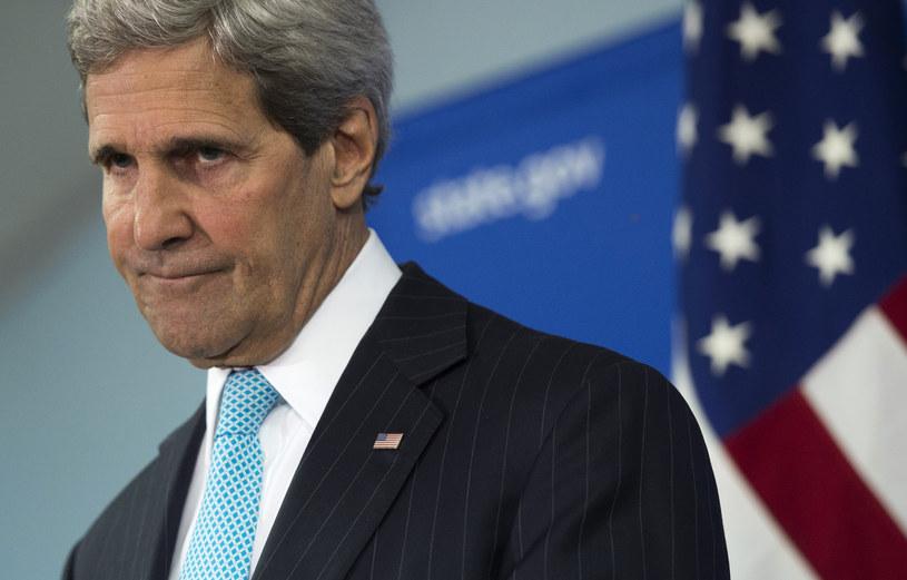 Kerry odłożył rozmowę o Ukrainie z Ławrowem /AFP