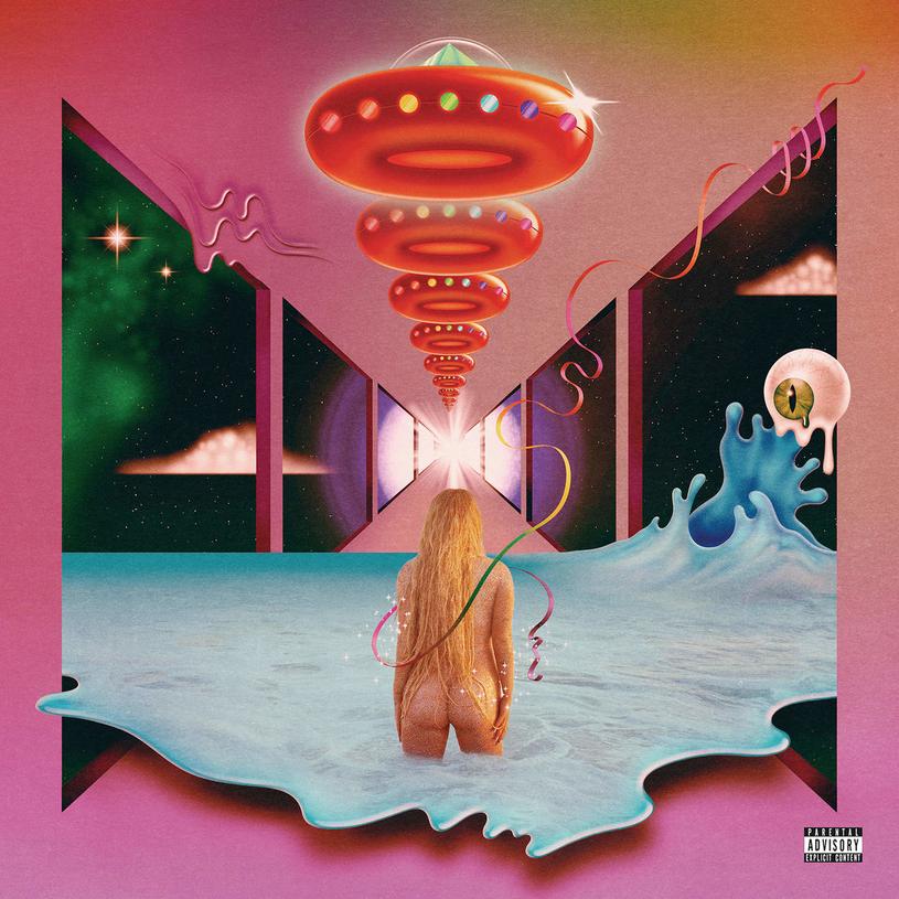 """Kesha na okładce """"Rainbow"""" /"""