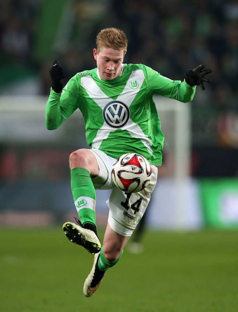 Kevin De Bruyne błyszczy w Wolfsburgu /AFP