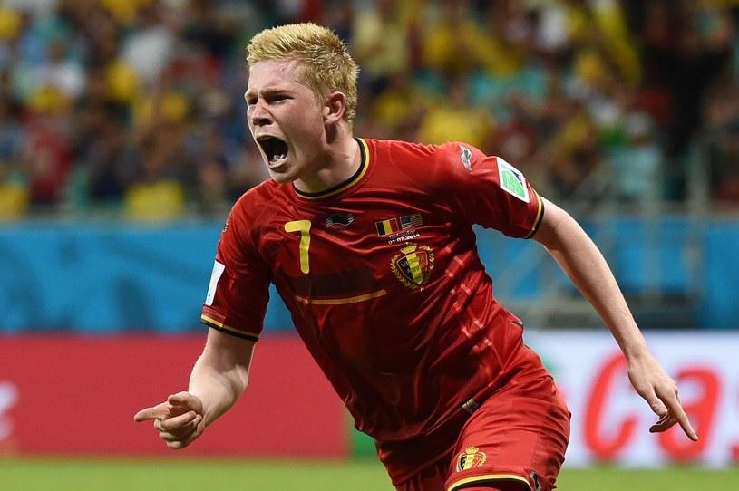 Kevin De Bruyne - bohater reprezentacji Belgii w meczu z USA /AFP