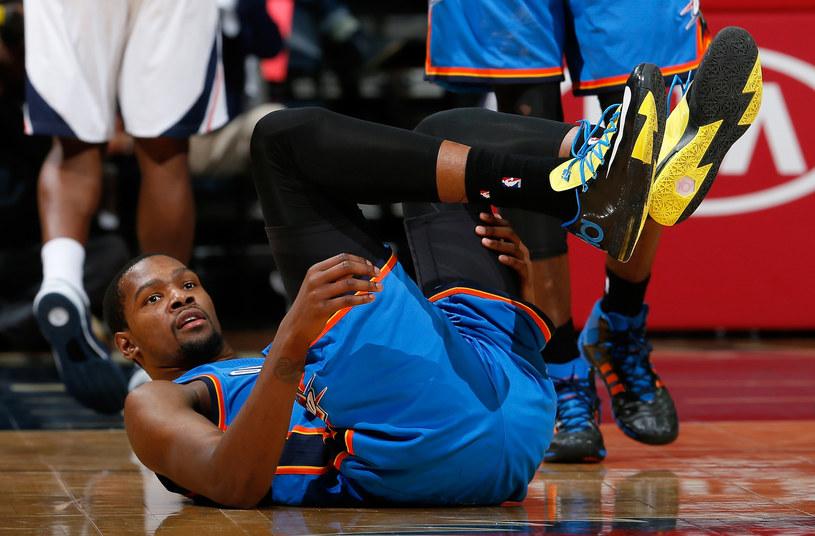 Kevin Durant, koszykarz Oklahoma City Thunder /AFP