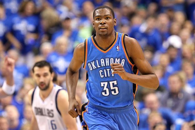 Kevin Durant, lider Oklahoma City Thunder/fot. Ronald Martinez /Getty Images