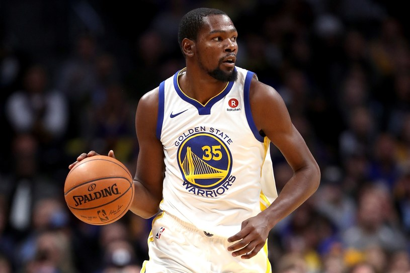 Kevin Durant z Golden State Warriors /AFP
