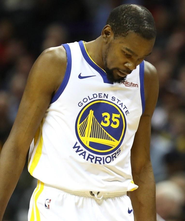 Kevin Durant z Golden State Warriors /AFP
