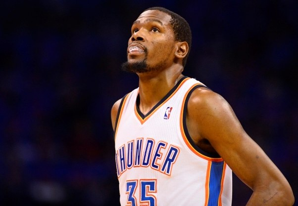 Kevin Durant /PAP/EPA/LARRY W. SMITH /PAP/EPA