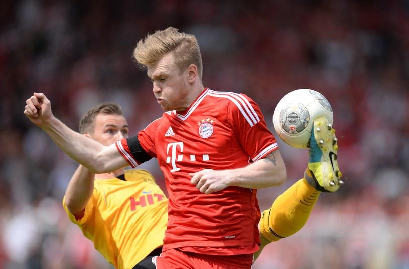 Kevin Friesenbichler w koszulce Bayernu Monachium /Getty Images
