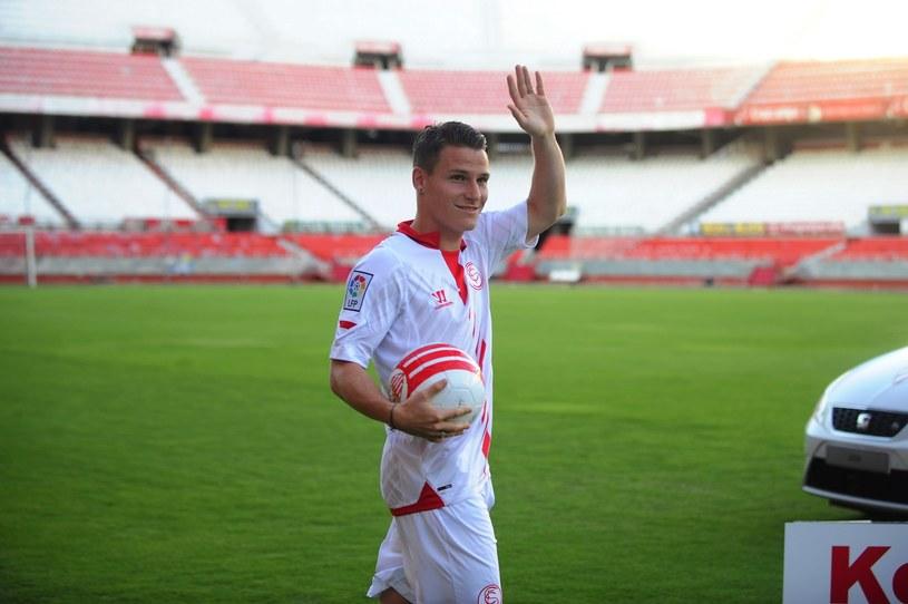 Kevin Gameiro, nowa gwiazda Sevilli /AFP