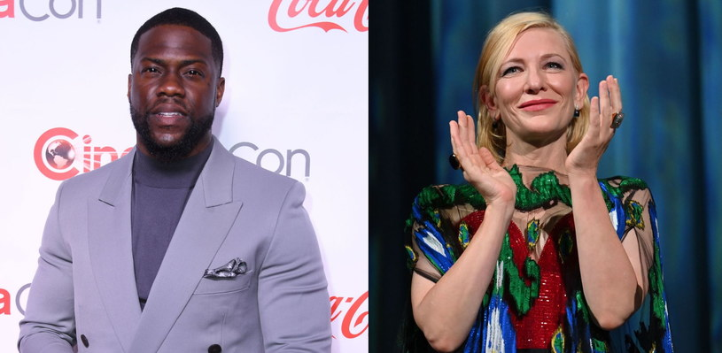 Kevin Hart i Cate Blanchett /AFP