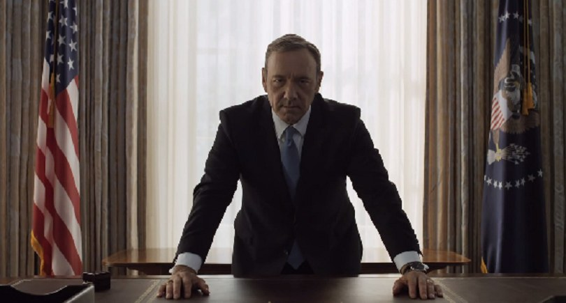 Kevin Spacey jako Frank Underwood /YouTube