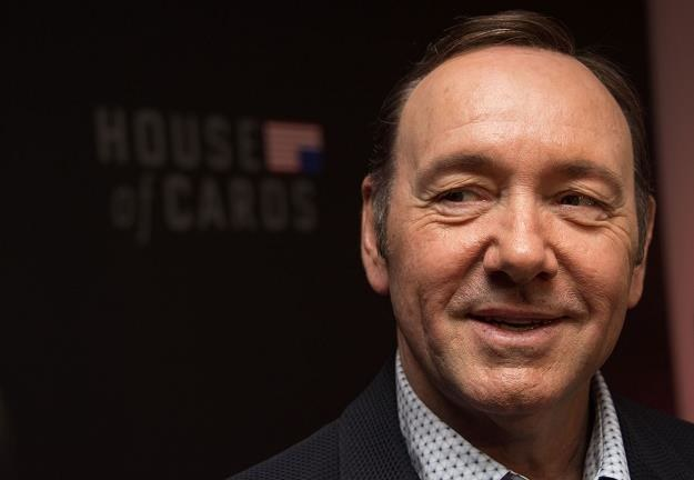 """Kevin Spacey na premierze w Netflix 4. serii """"House of cards"""" w Waszyngtonie 22 lutego 2016 r. /AFP"""