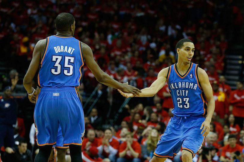 Kevinowie: Durant i Martin z Oklahoma City Thunder /AFP