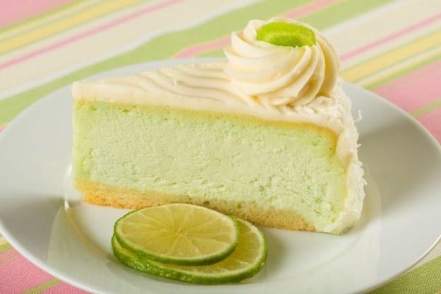 Key Lime Pie to sernik limonkowy /123RF/PICSEL