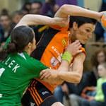 KGHM Metraco Zagłębie Lubin - Selgros Lublin 28:22 w finale