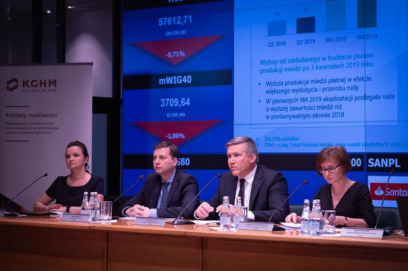 KGHM podał wyniki po trzech kwartałach tego roku, fot. FW /INTERIA.PL