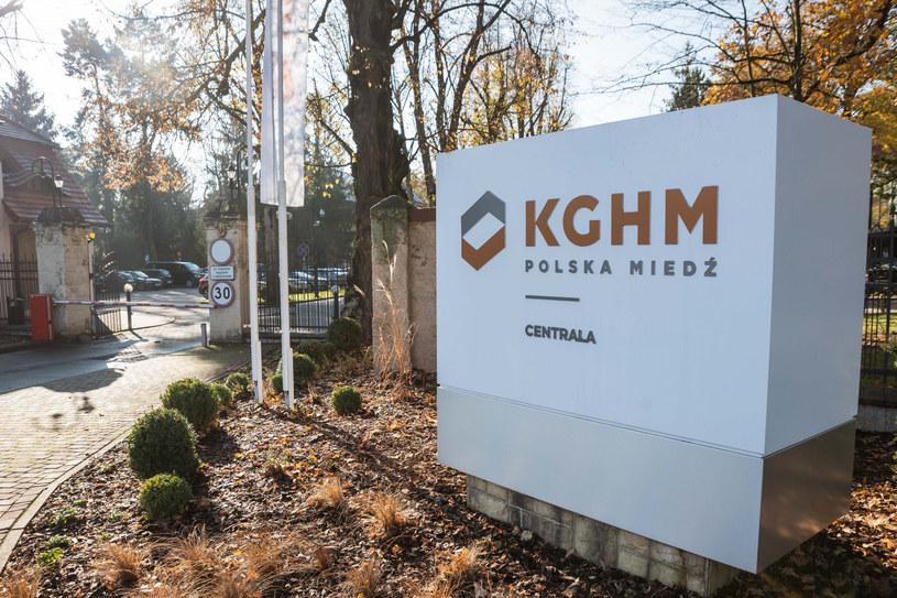 KGHM wyda prawie 200 mln na gaz /Piotr Dziurman /Reporter