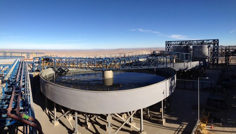 KGHM zanotował w czerwcu rekordową sprzedaż miedzi w kopalni Sierra Gorda w Chile /Informacja prasowa