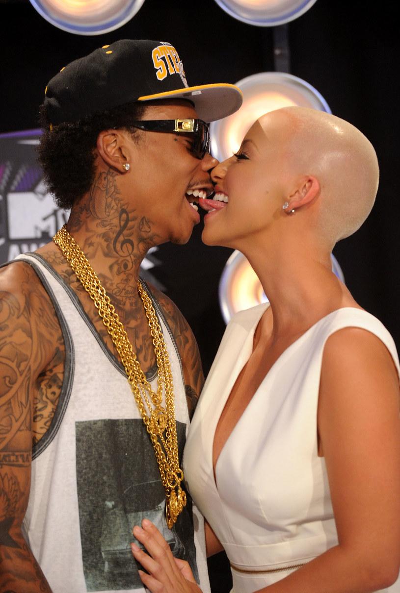 Khalifa i Rose urządzili... imprezę rozwodową! /Jason Merrit /Getty Images
